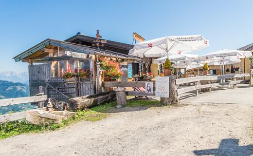 Cosy mountain restaurant with petting zoo in 1.545 m above sea level | © Kitzsteinhorn