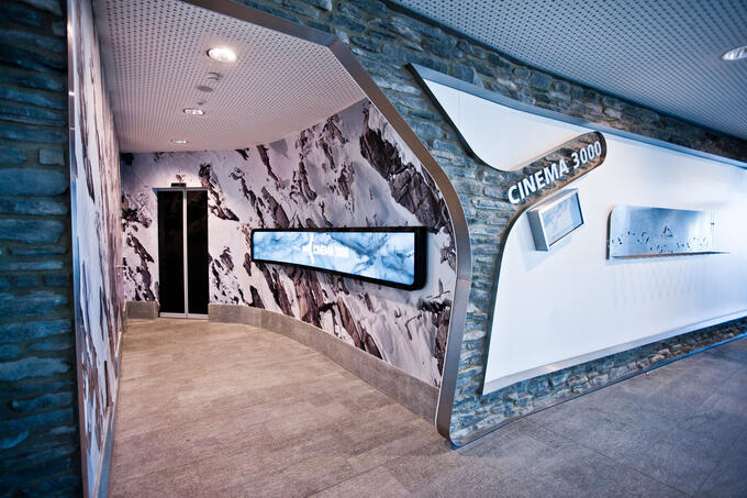 Cinema 3000 entrance | © Kitzsteinhorn