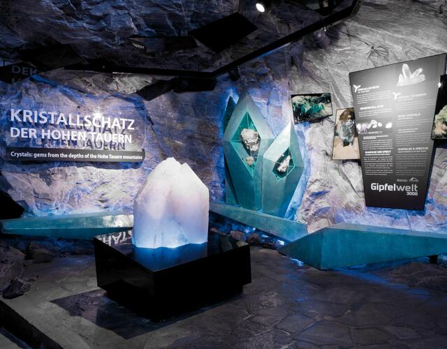 Crystal treasures of the Hohe Tauern | © Kitzsteinhorn