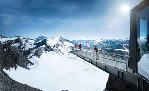 A magnificent panorama with more than 200 Alpine peaks | © Kitzsteinhorn