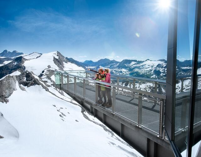 Best views in the Hohe Tauern National Park | © Kitzsteinhorn
