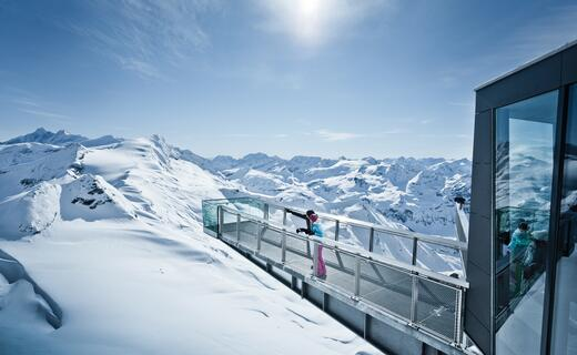 Offers unique insights and views of Austria`s highest mountains | © Kitzsteinhorn
