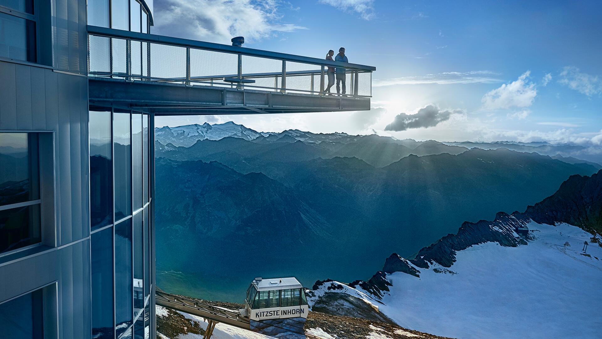 Stunning view to the surrounding mountain world | © Kitzsteinhorn