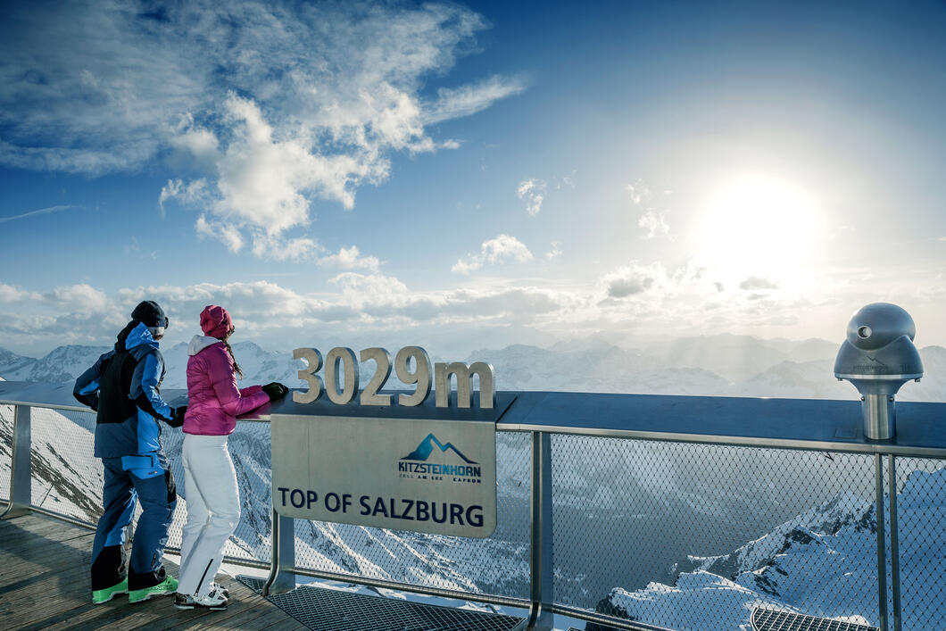 Easily accessible by cable cars | © Kitzsteinhorn