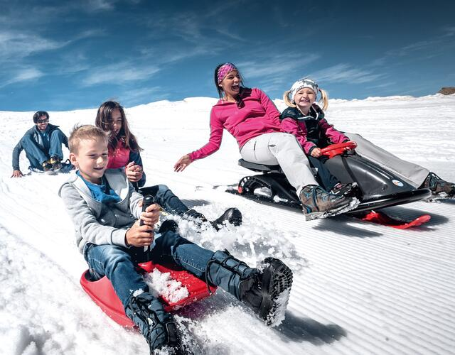 Summer snow fun | © Kitzsteinhorn