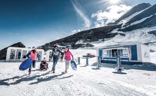 Family fun in summer snow | © Kitzsteinhorn