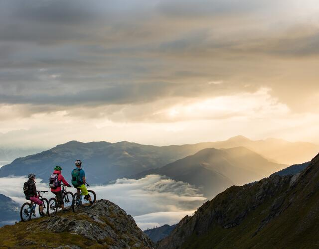 The Kitzsteinhorn offers perfect trails and routes designed for all bike sport variations | © SalzburgerLand - David Schultheiss for WOM Medien