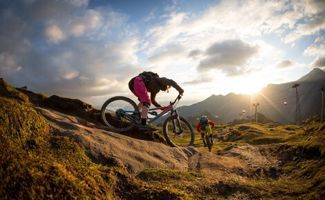 A real paradise for mountain bikers | © SalzburgerLand - David Schultheiss for WOM Medien