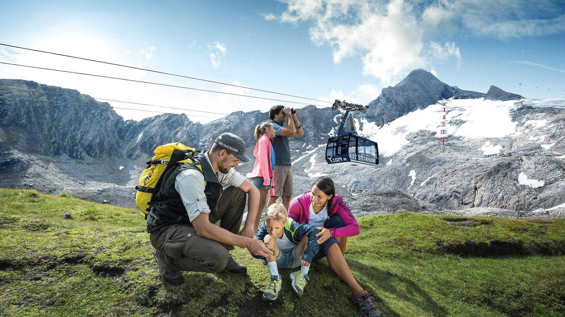 Every Thursday: guided family hike on the Kitzsteinhorn | © Kitzsteinhorn