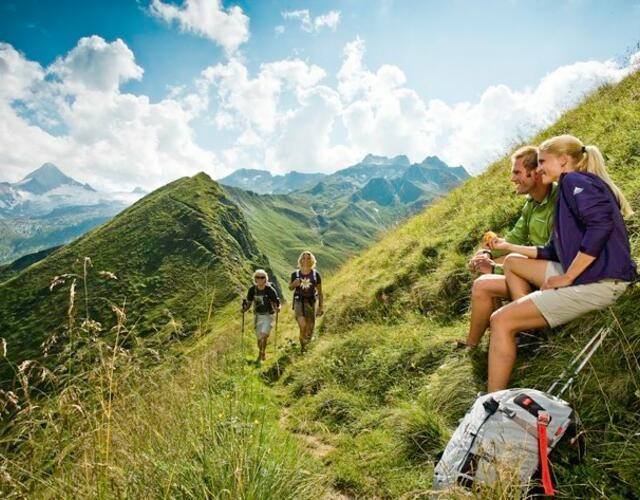 Hiking area at the border to the Hohe Tauern National Park | © Kitzsteinhorn