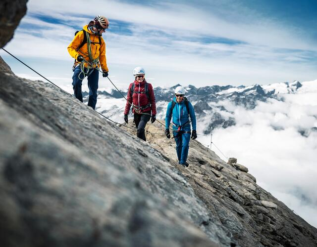 Every Wednesday in summer: Guided tour to the summit of the Kitzsteinhorn | © Kitzsteinhorn
