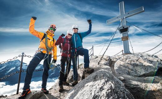 My first 3000 m peak! | © Kitzsteinhorn