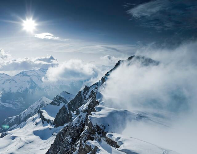 Fantastic views in 3.000 metres above sea level  | © Kitzsteinhorn