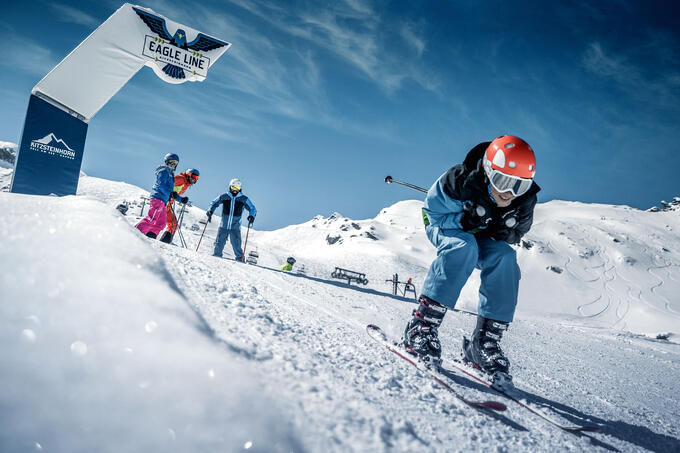 The adventure piste - fun parcourse for adventurers of all ages | © Kitzsteinhorn