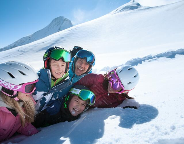Skiing holiday with the entire family | © Kitzsteinhorn
