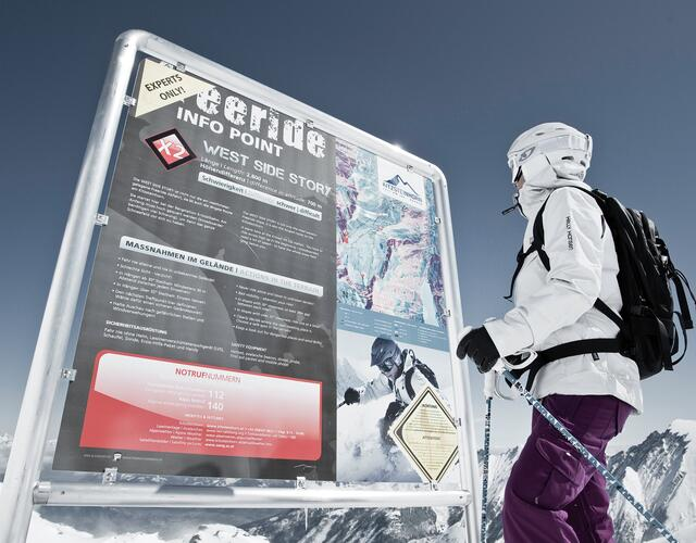 Info Points at the starting points of the routes | © Kitzsteinhorn