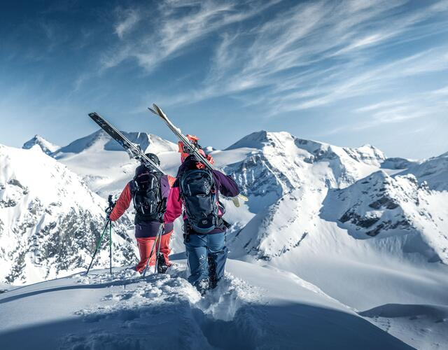 The local ski schools offer special deep-snow and freeride courses | © Kitzsteinhorn