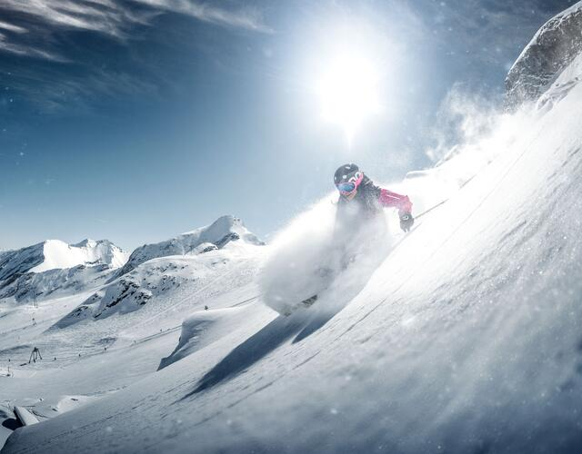 It`s powder time! | © Kitzsteinhorn