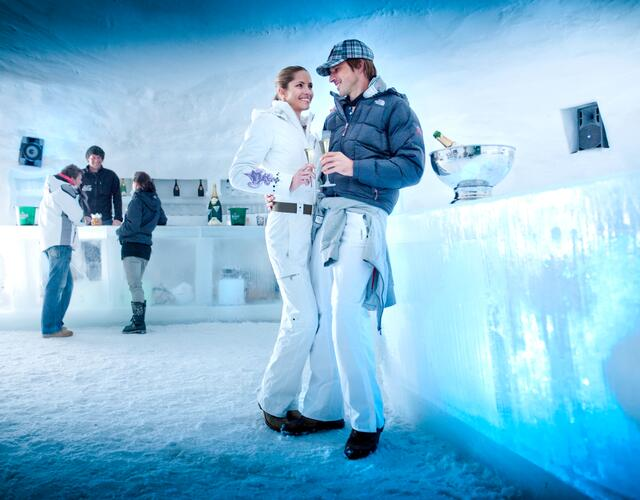 Stylish time-out at the ICE CAMP presented by Audi quattro | © Kitzsteinhorn