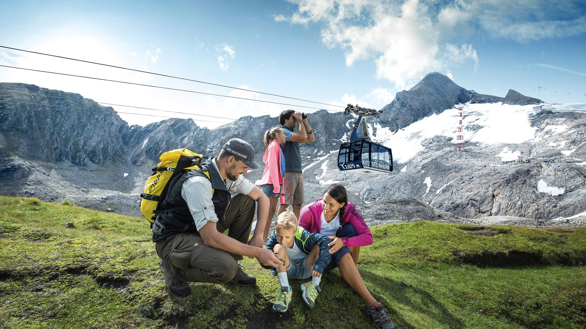 Winter sport in all its variety | © Kitzsteinhorn