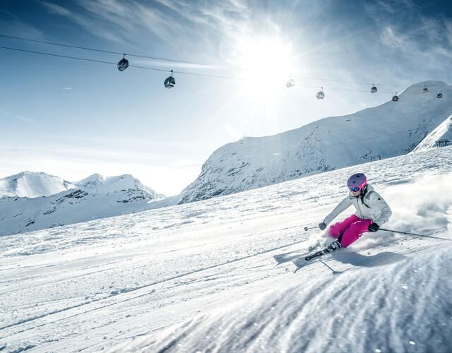 Many different pistes | © Kitzsteinhorn