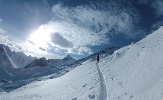 Every Thursday: guided ski tour to the Tristkogel  | © Kitzsteinhorn