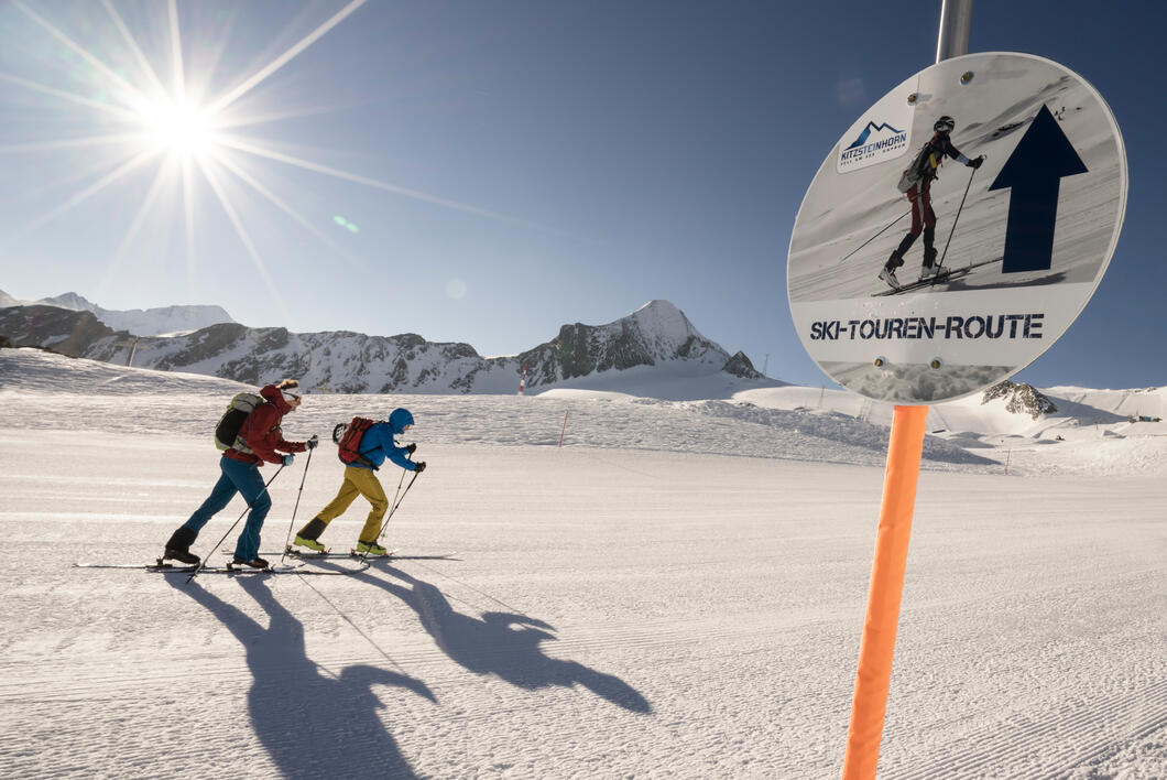 "The two signposted ski touring routes ""Eisbrecher"" (Icebreaker) and ""Schneekönigin"" (Snow Queen) with start at the Langwiedboden are opened as soon as the first snow falls 
