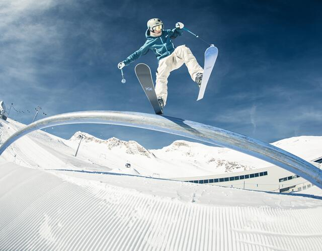 Get the kick in the world-class Kitzsteinhorn snow parks | © Kitzsteinhorn