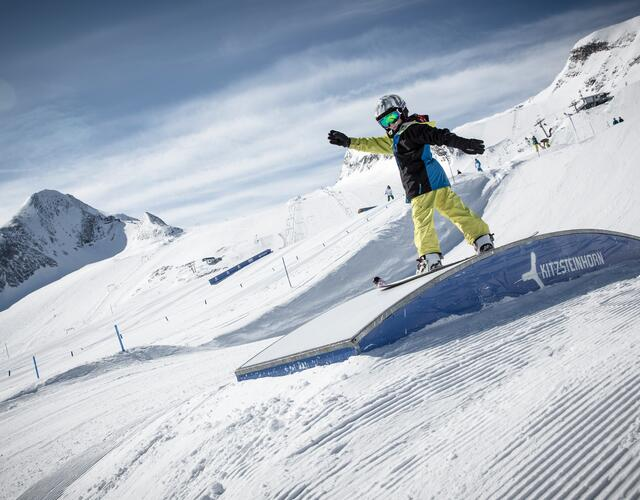 Mix of Easy-, Medium- und Pro-Lines | © Kitzsteinhorn