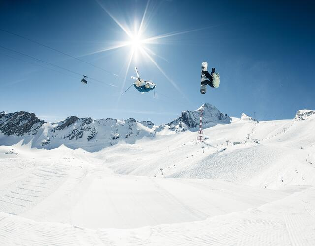 An extra-long freestyle season from October to May | © Kitzsteinhorn
