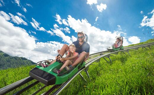 Alpine Coaster: Fun guarantee for a family holiday in Zell am See–Kaprun