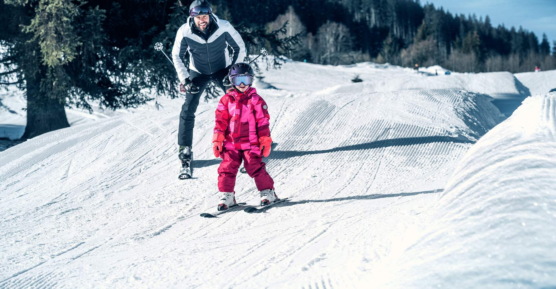 Phantasy Park - Fun piste for small  freestylers | © Kitzsteinhorn