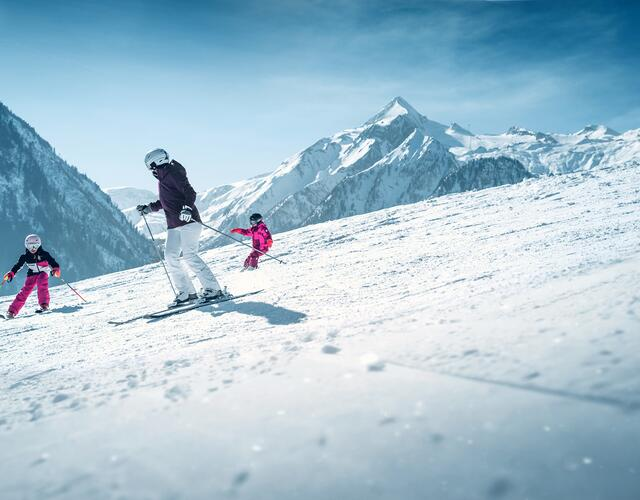 The local ski resort for families in Kaprun | © Kitzsteinhorn